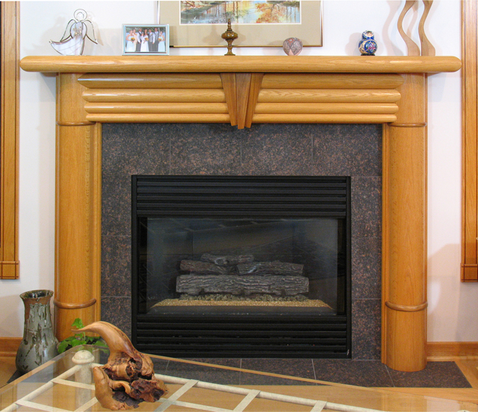Mantel Contemporary F945 F944 F943 F942